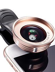 Cherllo 039 lentille de téléphone portable 0.45x large angle 20x macro cpl lentille externe
