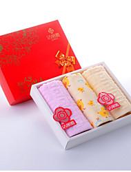Serviette,Fleurs Haute qualité 100% Coton Supima Serviette