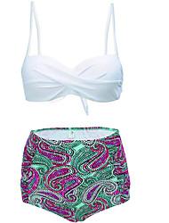 Women's Straped Bikini Polka Dot