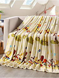 Super Suave Animais Poliéster cobertores