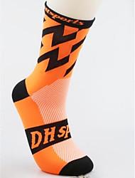 Bike/Cycling Socks Anatomic Design Lightweight Breathability Spandex Nylon Running/Jogging Cycling Spring Summer