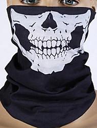 Máscaras de ciclagem sem costura de lenço multifunções para manter os trajes curtos do Halloween de Cuny O crânio mudou a toalha de rosto