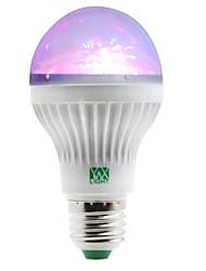 1W Lâmpada Redonda LED 5 SMD 100-150 lm RGB AC 85-265 V 1 pç E27