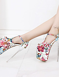 Women's Heels 20CM Heel Height Sexy Peep Toe T-Strap Stiletto Heel Pumps Party Shoes More Colors available