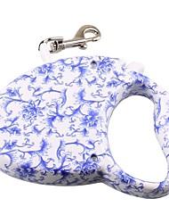 Laisses Portable Géométrique Léopard Térylène