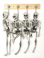 1pc halloween squelette enfants taille pendaison accessoires hanté décoration maison squelette squelette modèle os