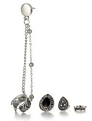 Women's Stud Earrings Drop Earrings Earrings Set Fashion Punk Hip-Hop Personalized Simple Style Alloy Jewelry ForHalloween Stage