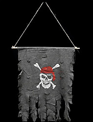 Halloween pirate flag party décoration fournitures petit