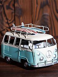 Diy ornamentos automotivos ônibus retro ônibus skates carro modelo carro pendente&enfeites