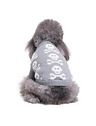 Cane Maglioni Abbigliamento per cani Casual Sportivo Osso