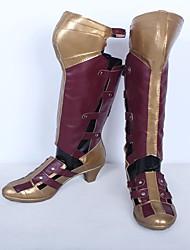 Обувь для косплэй Сапоги для косплея Косплей Косплей Аниме Обувь для косплэйКожа Искусственная кожа/Полиуретановая кожа Полиуретановая