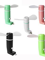 Dispositivo di raffreddamento freddo del ventilatore del telefono mobile del ridurre in pani del ventilatore del telefono mobile di