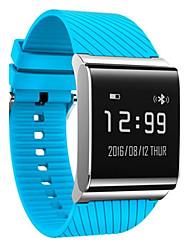 Homens Relógio Inteligente Relógio de Moda Digital Silicone Banda Preta Branco Azul Vermelho Verde