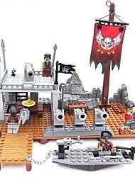 Bausteine Für Geschenk Bausteine Schiff Gusseisen 6 Jahre alt und höher Spielzeuge