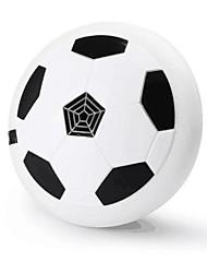 Дети воздушный силовой футбол диск наклонный диск подвесной мяч с пеной бамперы и светодиодные фонари обучение футбол для внутренних или