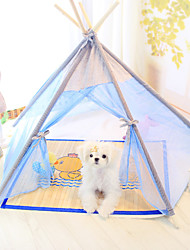 Dog Bed Pet Covers Light Blue White