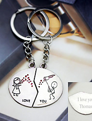 Material Keychain Favors-6 Pairs/Set  Butterflies Flutter key Ring  Favors Personalized Silver