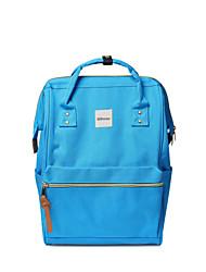 Travel Bag for Polyester-Light Blue Blushing Pink Dark Blue Black