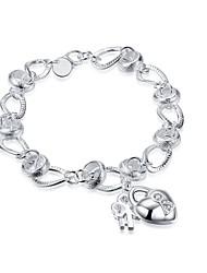 Femme Chaînes & Bracelets Charmes pour Bracelets Zircon cubiqueBasique Hypoallergique Le style mignon Fait à la main Gothique Bijoux de