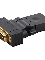 IT-CEO Y2DVI-2   DVI Adapter DVI to HDMI 1.4 Adapter Male - Female Gold-Plated Copper