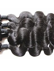 Vente en gros meilleurs paquets de cheveux brésiliens 6pcs 600g lot pour deux tissus de tête installés 100% non transformés cheveux