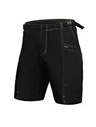 Jaggad Pantalones Acolchados de Ciclismo Hombre Bicicleta Pantalones cortos holgados Prendas de abajo Ciclismo 100% Poliéster Un Color