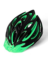 Взрослые Велоспорт шлем 15 Вентиляционные клапаны Велоспорт Горные велосипеды Шоссейные велосипеды Велосипеды для активного отдыха