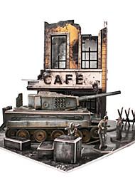 Rompecabezas Kit de Bricolaje Puzzles 3D Bloques de construcción Juguetes de bricolaje Cuadriga Papel