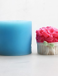 Flower Shape Soap Mold Candle Mold DIY Silicone Fondant Mold Resin DIY Food Grade Silicone Mold