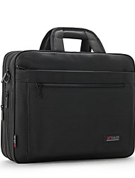 Men Bags All Seasons Oxford Cloth Laptop Bag with Zipper for Office & Career Black
