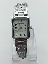Жен. Детские Модные часы Наручные часы Часы-браслет Китайский Цифровой сплав Группа С подвесками Повседневная Серебристый металл