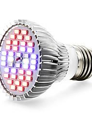 15W E27 Lampes Horticoles LED 40 SMD 5730 800-1200 lm Rouge Bleu UV (Lumière Noire) V 1 pièce