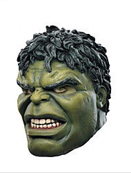 Halloween party party cosplay invincible hawke vengeur union green giant latex mask