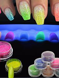 Meninas e Jovens Mulheres Efeito 3D Flash Artigos DIY Pó Descanso para Mãos para Manicure