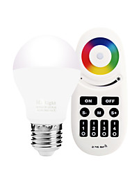 GU10 5W 2.4GHz White-Warm White Stepless Dimming Phone-Wifi Control Wireless Remote Control Smart Bulb Lighting AC85 - 265V with Remote Control
