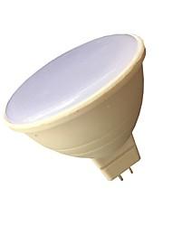 7W Spot LED 6 SMD 3030 580 lm Blanc Chaud Blanc V 1 pièce MR16