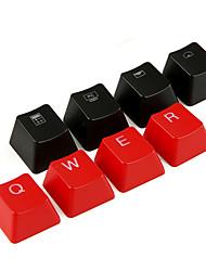 Dump translúcido abs keycap definido para teclado de teclado mecanicamente impresso