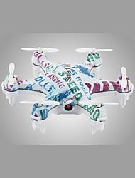 Drone CX-37 4 canaux Avec l'appareil photo 0.3MP HD Eclairage LED Retour Automatique Vol Rotatif De 360 Degrés Avec CaméraQuadri rotor RC