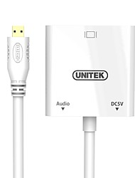 Unitek Micro HDMI Адаптер, Micro HDMI to VGA Адаптер Male - Female 0.15m (0.5Ft)