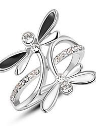 Settings Ring Luxury Women's Euramerican Fashion Animal Design Birthday Wedding Movie Gift Jewelry