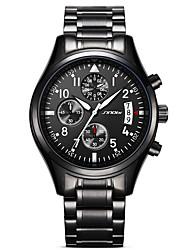 SINOBI Мужской Спортивные часы Армейские часы Нарядные часы Модные часы Наручные часы Имитационная Четырехугольник Часы Японский Кварцевый