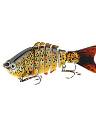 Fishing Wobblers Lifelike Lure 7 Segment Swimbait Crankbait Hard Bait Slow 10cm 15.5g Artificial Lure Tackle