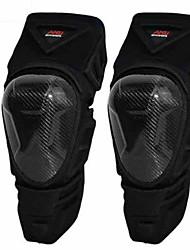 Amu p22 motocicleta joelho carburo fibra rugby corrida país cruzeiro cavaleiro queda windbreak leggings duas peças preto