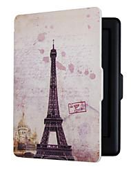 auto sono magnético caso de capa fina de escudo duro para Kobo toque 2.0 torre Eiffel 6.0inch