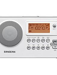 PR-D14USB Radio portable Radio FM Enceinte interne Fonction réveille Blanc