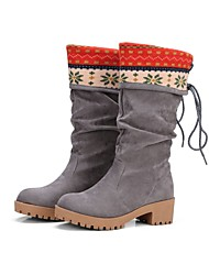 Women's Boots Gladiator Comfort Novelty Cowboy / Western Boots Snow Boots Riding Boots Motorcycle Boots Combat Boots Customized Materials