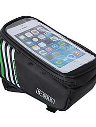 B-SOUL Велосумка/бардачок 1.8LWaterproof Бардачок на раму Сумка на раму Пригодно для носки Держатель iphone Сенсорный экран