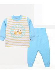 Baby Kids' Casual/Daily Polka dots Clothing Set Summer
