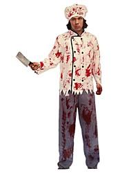 Cosplay Kostüme Skelett/Totenkopf Zombie Cosplay Fest/Feiertage Halloween Kostüme Vintage Top Hosen Mützen Halloween Karneval Frau Unisex