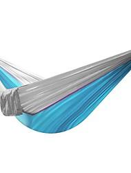HT Outdoor Parachute Cloth Hammock Super Light Hammock Camping Belt Tie Rope Folding Portable Leisure Bed